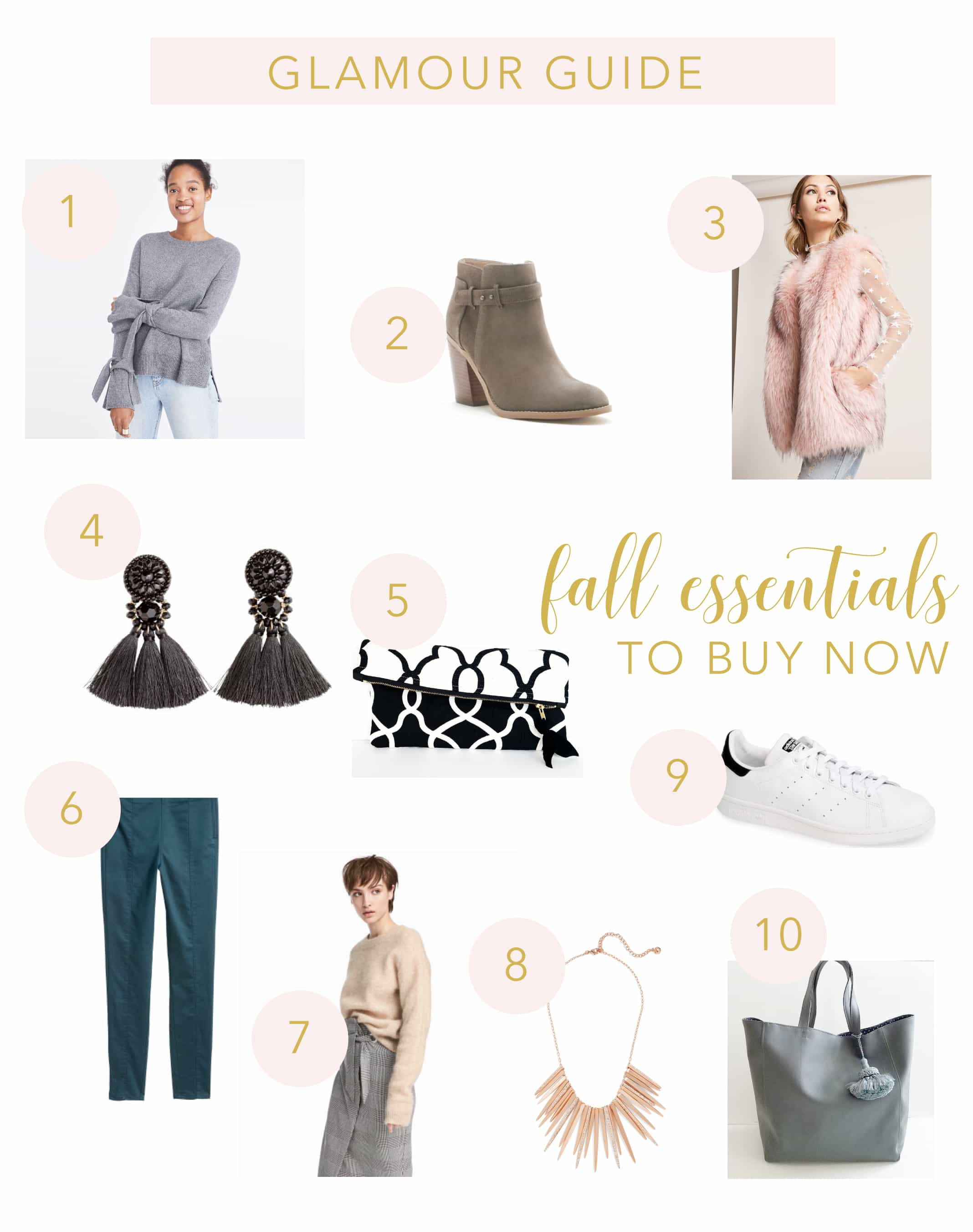 10 Fall Wardrobe Essentials to Buy Now
