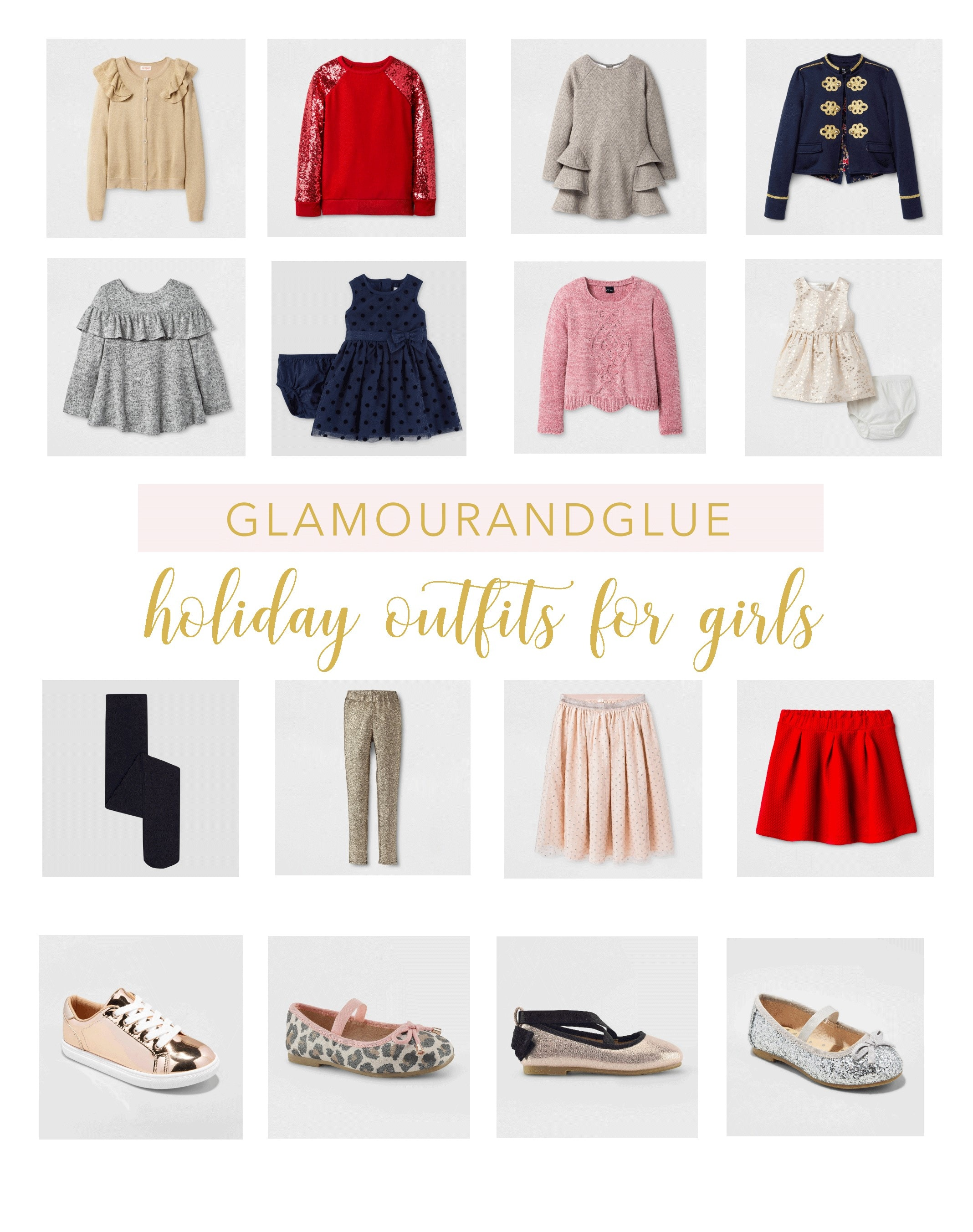 Holiday 2017 Outfits for Girls by Target