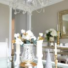 dining-room-white-silver-gold-mirrored-christmas-decorations -8